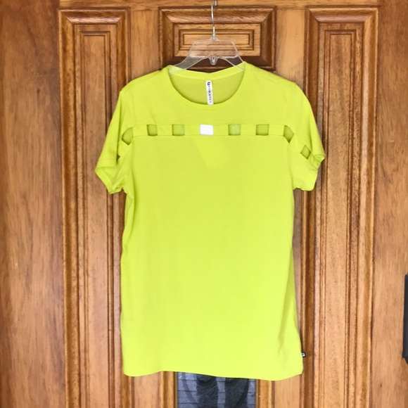 Fabletics Neon Cutout T ShirtNwt by Fabletics